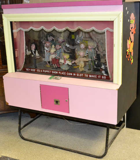 Coin Operated Display