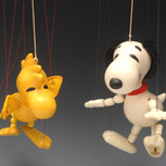 Woodstock and Snoopy