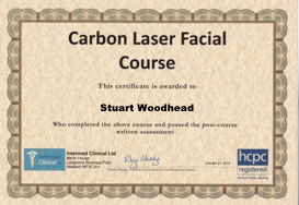 Carbo Facial Certificate