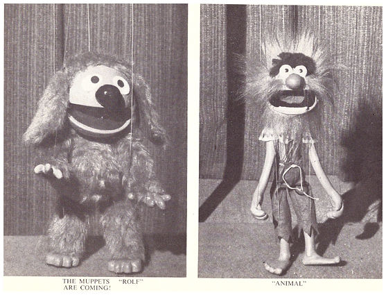 Rolf and Animal Henson Muppet