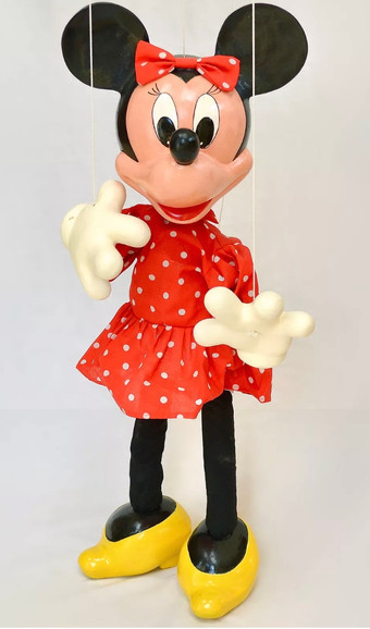 Disply Minnie Mouse