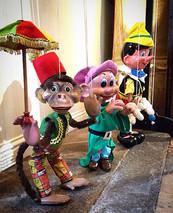 Monkey, Dopey and Pinocchio
