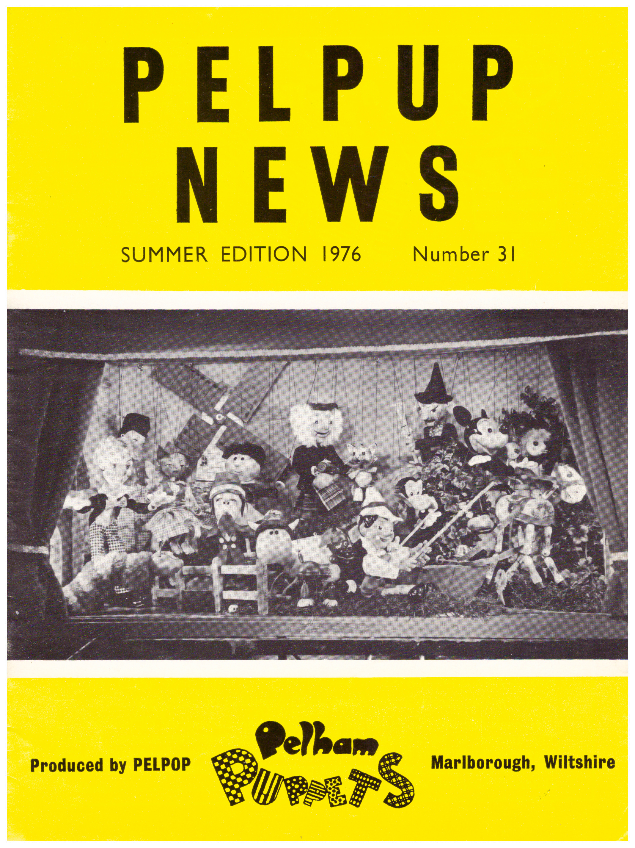Summer Edition 1976 Number 31