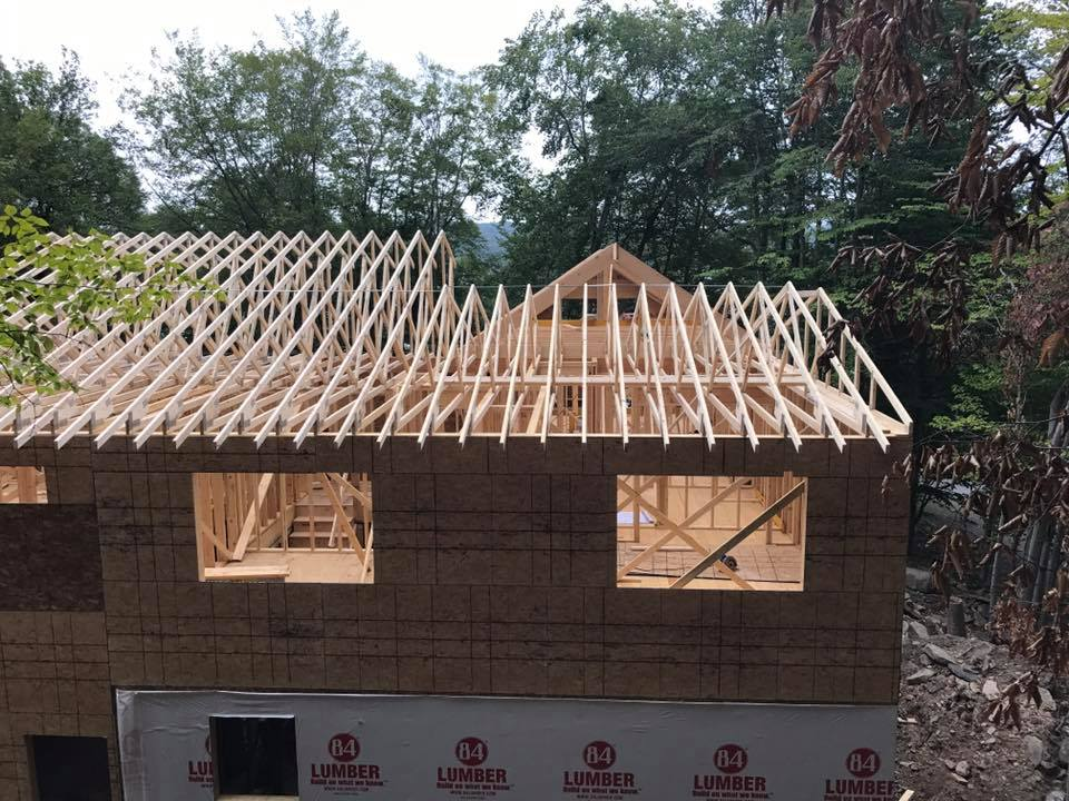 Roof Construction Sollenne Homes