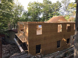 Framing Home Addition Sollenne