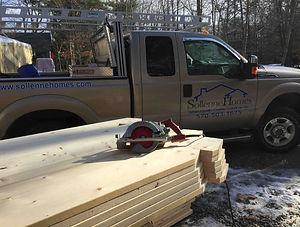 Work Truck on Duty
