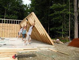 Assembling Wall Frames