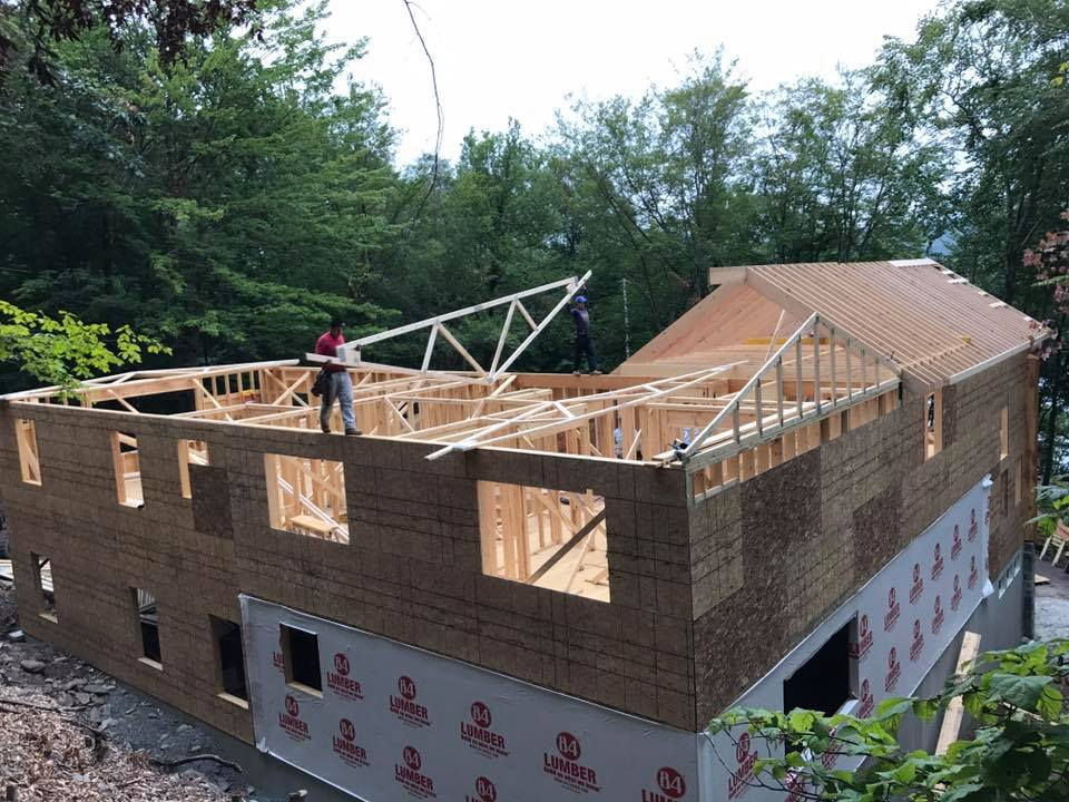 Roof Framing Sollenne Homes