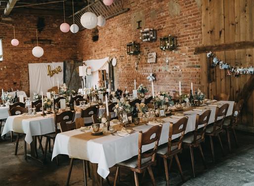 Dienstleister Empfehlungen aus der Hochzeitsbranche - Teil I-  Feierlocation