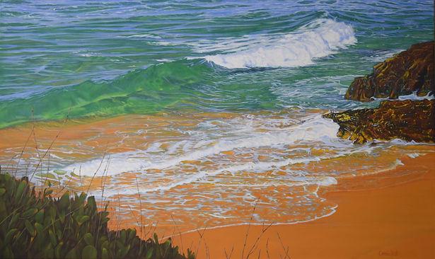 Carole Elliott Artist seascape