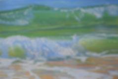 Summer Break in pastel by Carole Elliott