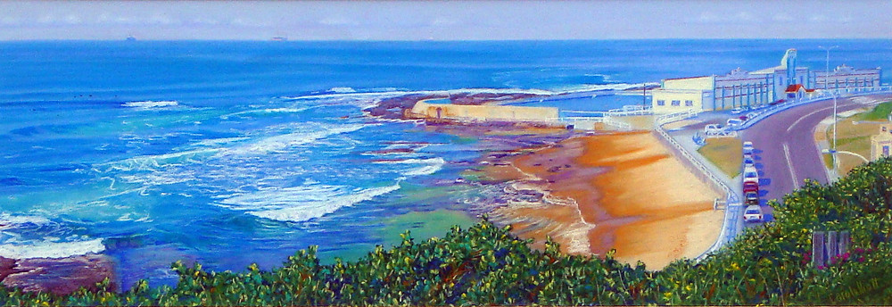 """Cowrie Hole - Newcastle"" by Carole Elliott"