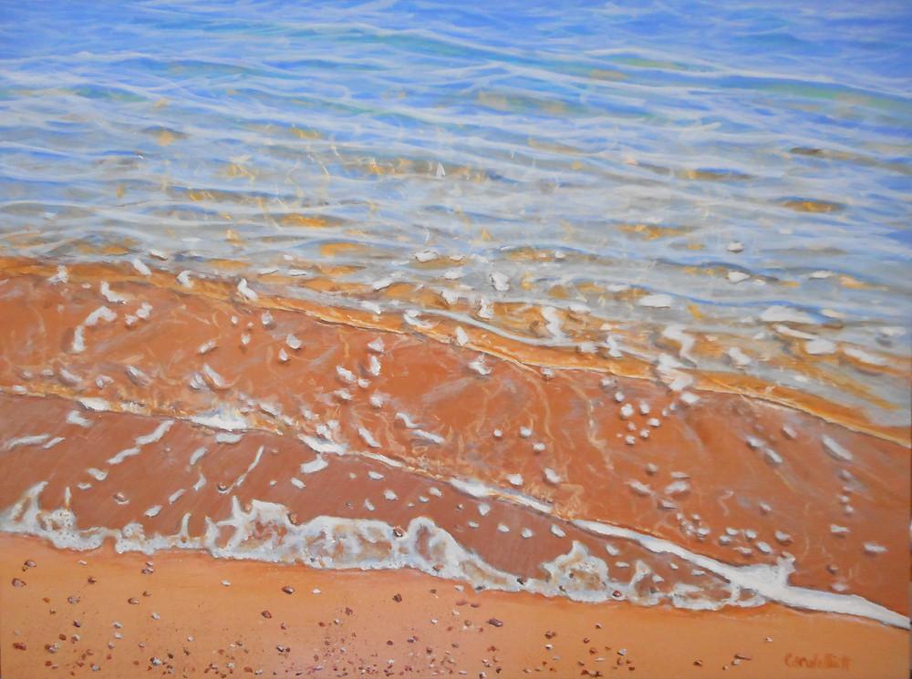 Incoming Tide II by Carole Elliott Artist