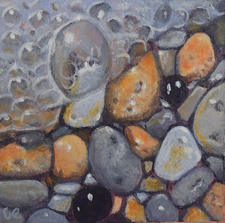 Carole Elliott's miniature pebbles