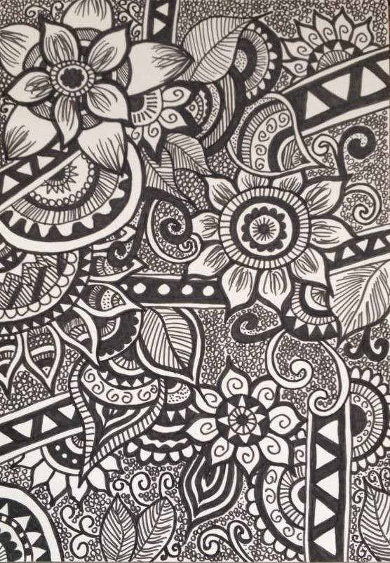 Zentangle by my Daughter, Carly Elliott
