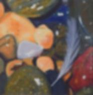 Carole Elliott's miniature pebbles