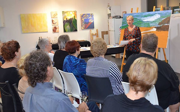 Art Talk by Carole Elliott Artist