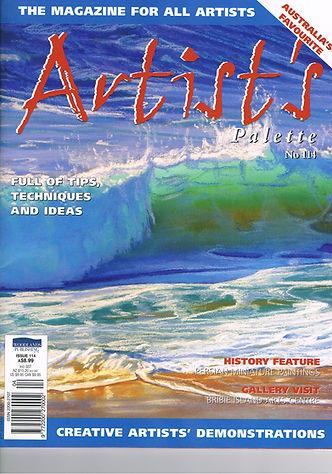 Carole Elliott Artist in Artist's Palette Magazine