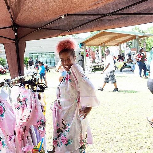 Kimono Bathrobe Sleepwear