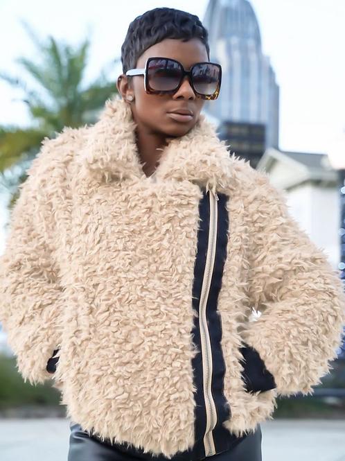 On point winter coat