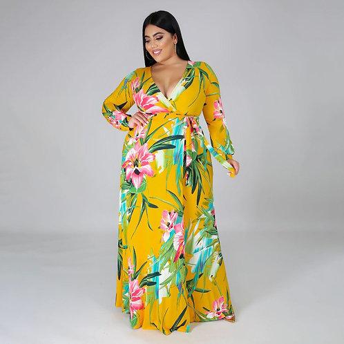 She is here dress