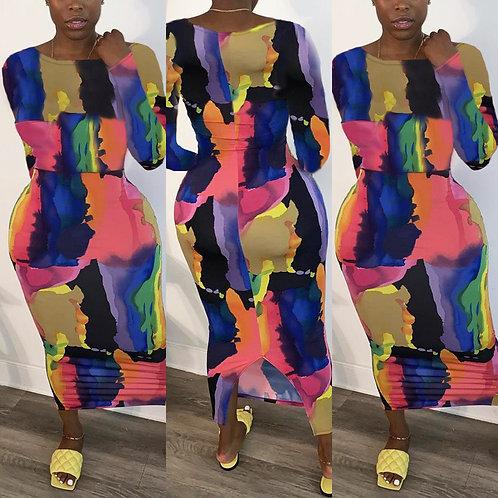 Caribbean vibe dress