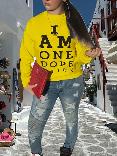 Dope Chick sweater