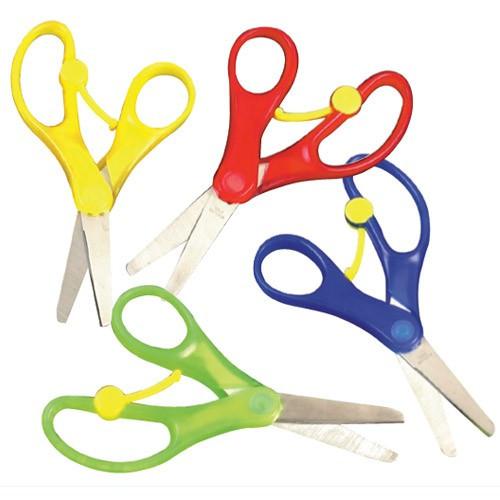 Spring-Loaded Scissors: Great for Preschool Learning