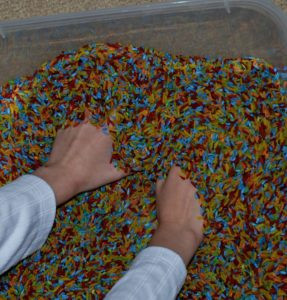 Sensory Bag: what to put in one