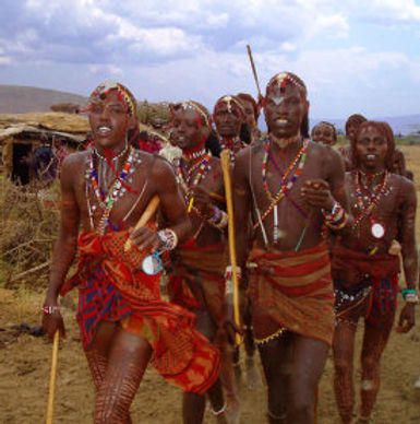 african tribal warriors