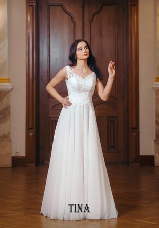 tina - suknia ślubna - salon slubny bianka starogard gdański