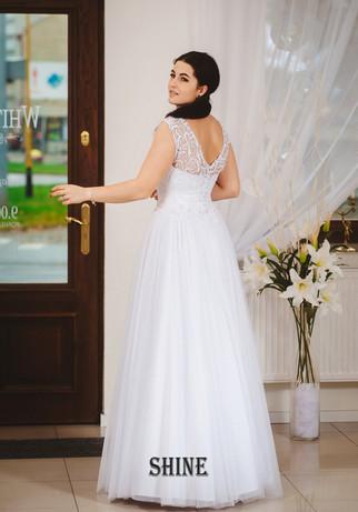 shine -suknia ślubna - salon slubny bianka starogard gdański
