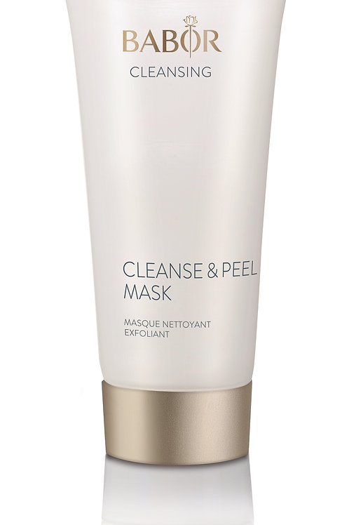 Cleanse & peel mask