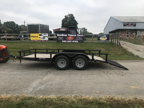 Double G 14' Tandem Utility Trailer