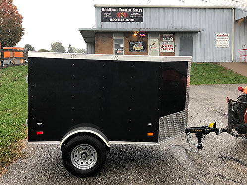 Covered Wagon 4'x6' Enclosed Trailer