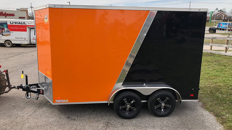 Covered Wagon 7'x12' HD Enclosed Trailer