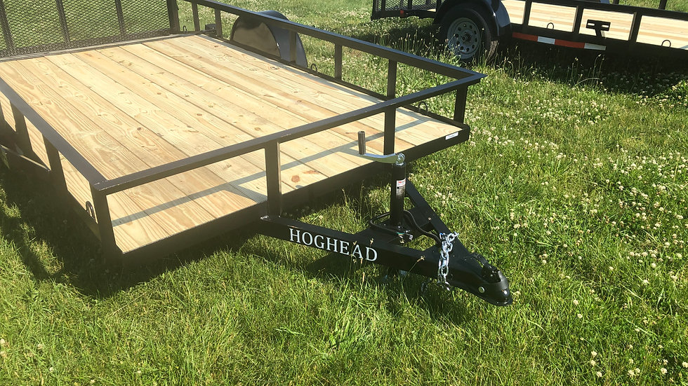 2021 6x12 HogHead Utility Trailer