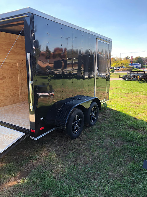 Covered Wagon 6' x 12' Enclosed Trailer