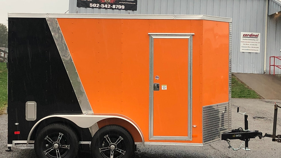 Covered Wagon 6'x10' HD Package Enclosed Trailer