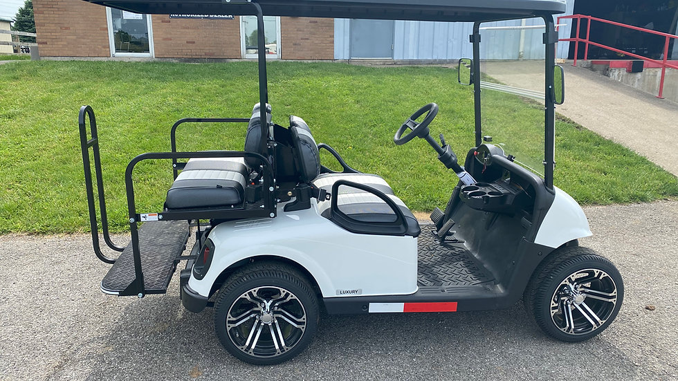 2020 LSV White Golf Cart
