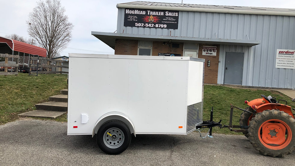 Covered Wagon 5'x8' Enclosed Trailer