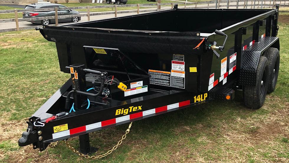7'x12' Big Tex 14LP Dump Trailer