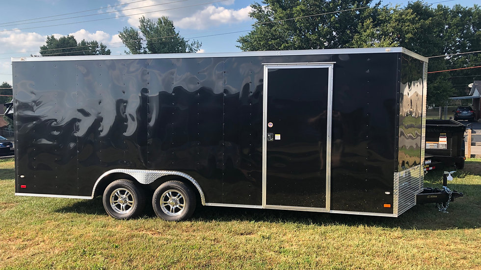 Covered Wagon 8.5' x 20' Enclosed Trailer