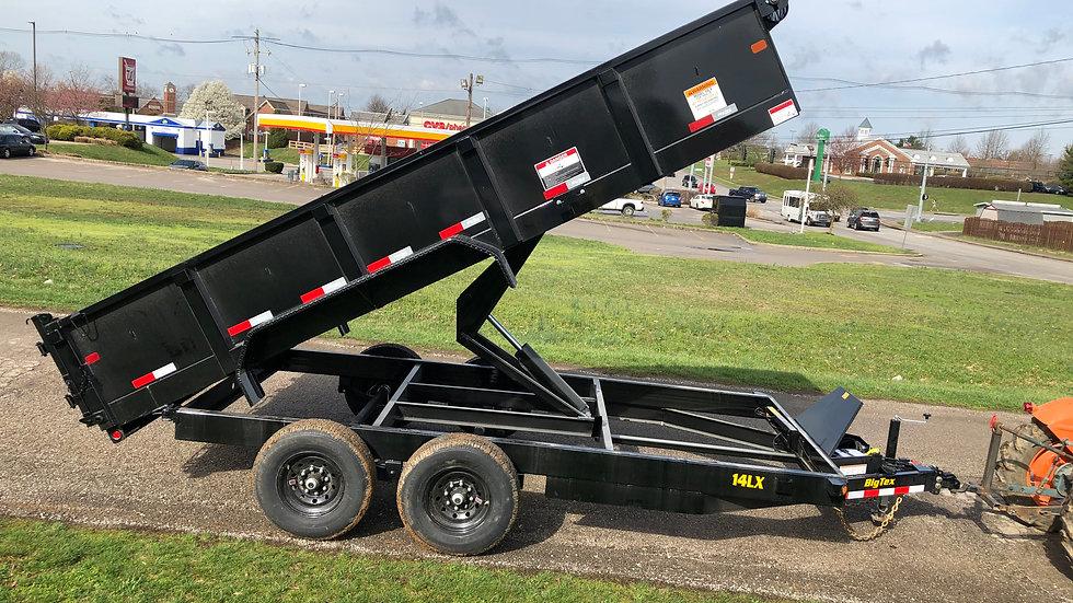 Big Tex 14LX 14' Dump Trailer