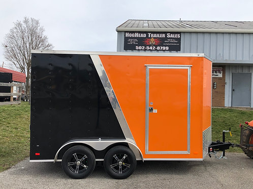 Covered Wagon 7'x14' HD Enclosed Trailer