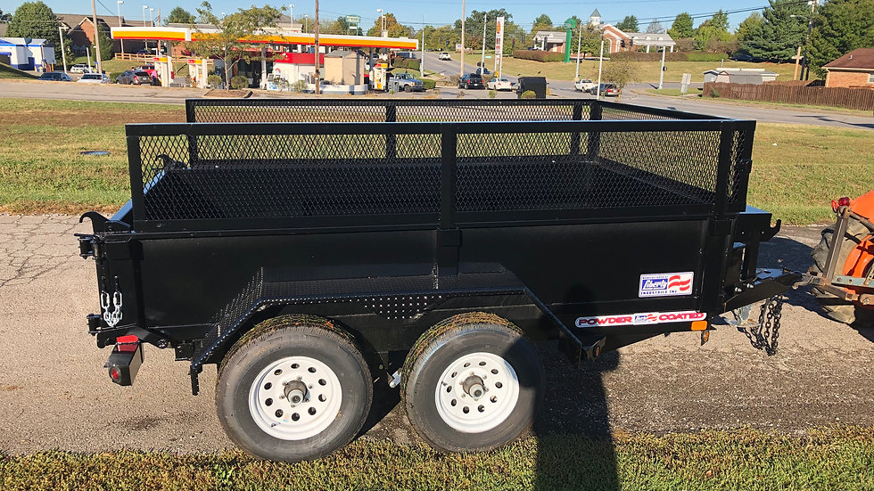 Liberty 10' Dump Trailer with sides