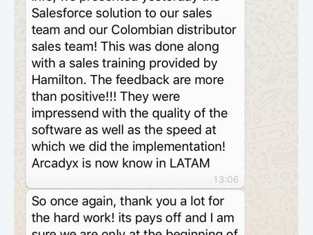 Happy customer !