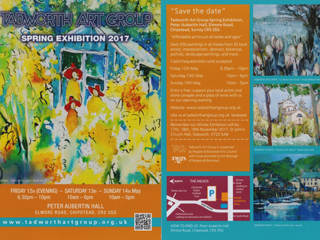 Tadworth Art Group exhibition!