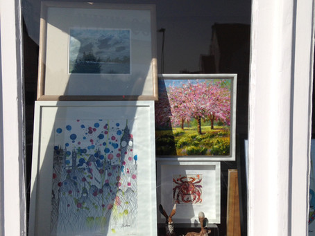 Local artists exhibition at the Corner gallery, Carshalton Beeches, Surrey through to 4th May