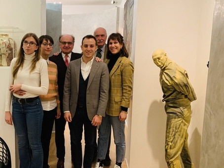 I ragazzi del Biella Master in trasferta a Milano per incontrare l'avvocato Iannaccone
